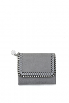 Falabella shaggy deer small flap wallet Stella McCartney