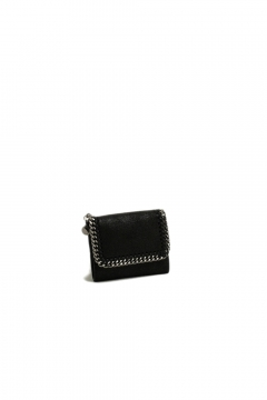 Stella McCartney falabella small wallet black